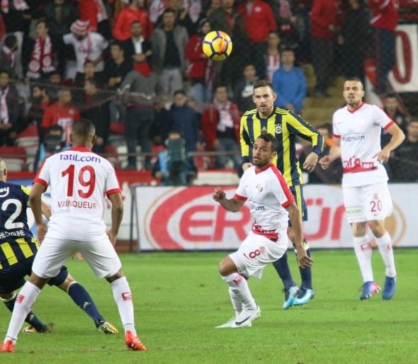 Antalyaspor Fenerbahçe Maçından Kareler
