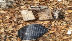 Bingölde toprağa gömülü terörist cesedi bulundu