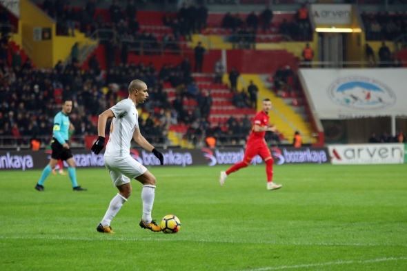 Kayserispor Başakşehir maçından kareler