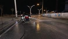 Şırnakta cadde ve sokaklar yıkanarak temizleniyor