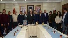 Asimder ve Azerbaycan Bdmden Vali Ünlüye ziyaret