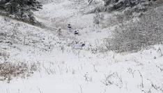 Kar altında terör operasyonu