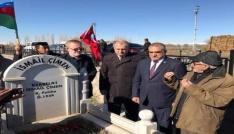 Kerbelayı İsmayil Çimen mezarı ziyaret edildi