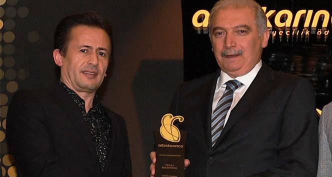 Başkan Yazıcı, 'Gönül Hanem' ile Altın Karınca Ödülünü kazandı