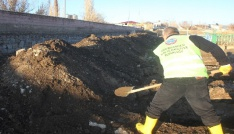 Ağrıda kış öncesi 250 mezar kazıldı