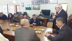 Azerbaycan heyeti Iğdırda Stklarla buluştu