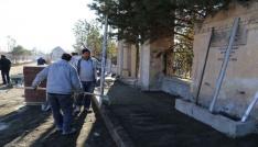 Erzincan belediyesi çalışmalarına devam ediyor