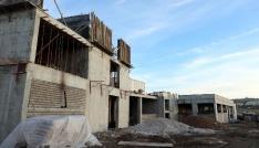 Ağız ve Diş Sağlığı Merkezi inşaatı yükseliyor