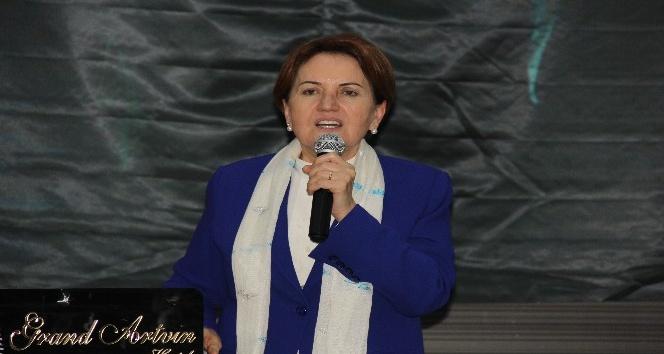 İYİ Parti Genel Başkanı Meral Akşenerden Artvinlileri kızdıracak açıklama
