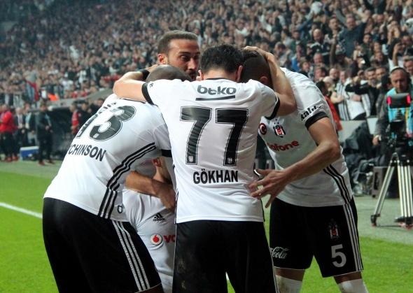 Beşiktaş Galatasaray Maçından Kareler