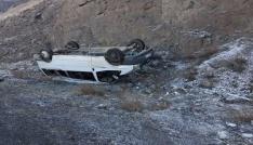 Tutmakta 2 ayrı kazada 4 kişi yaralandı