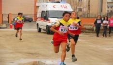 Erzincanda Okul Sporlarında Kros Heyecanı