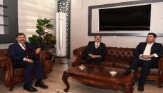 Başkan Asya, Milletvekili Ekinciye belediyenin projelerini tanıttı