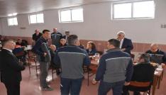 Sorgun Belediye Başkanı Şimşek madencilerle buluştu