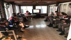 Jandarma personeline Kadına yönelik şiddet ile mücadele eğitimi