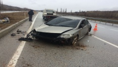 Sungurluda trafik kazası: 2 yaralı
