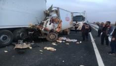 Mardinde trafik kazası: 1 ölü, 1 yaralı