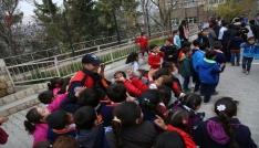 Mardinde çocuklar güvenle okula gidiyor