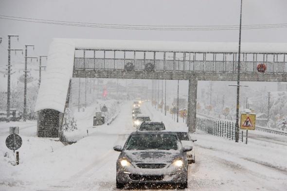 Kar yağışı yurtta etkili oldu