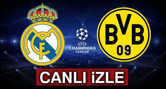 CANLI İZLE TİVUBU SPOR: Real Madrid Borussia Dortmund şifresiz canlı izle