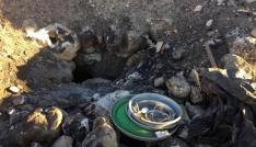 Nusaybinde 50 adet el yapımı patlayıcı ele geçirildi
