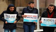 TÜGVA Yozgat İl Temsilciliğinden Kudüs protestosu