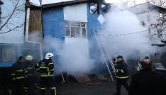 Karabükte ev yangını