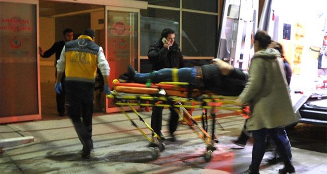 Samsunda otomobilin çarptığı yaya yaralandı