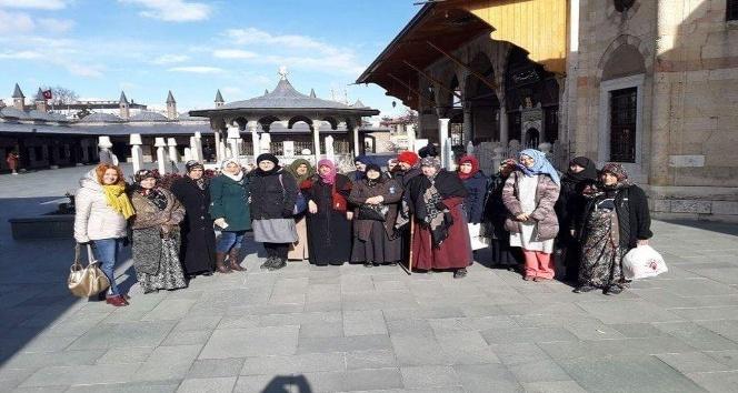 Kursiyerlere Konya gezisi