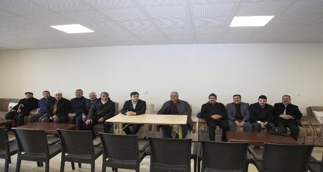 Ahlat'ta yeni bir taziye evi açıldı