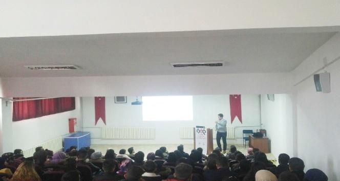 MYO öğrencilerine seminer
