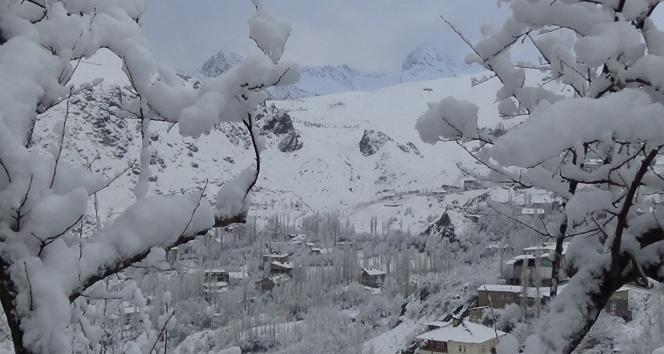 Hakkaride 22 köy ile 17 mezra yolu ulaşıma kapandı
