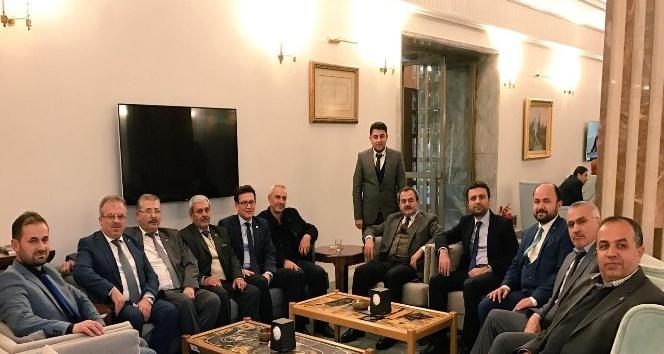 AK Parti Milletvekilleri TBMM'de Batı Antalyalıları ağırladı