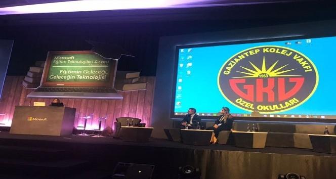Microsoft örnek okulu GKV eğitim teknolojileri zirvesinde