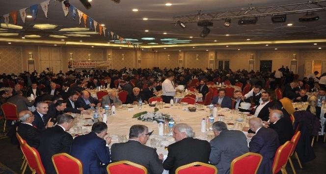 AK Parti İnegöl teşkilatı yemekte buluştu