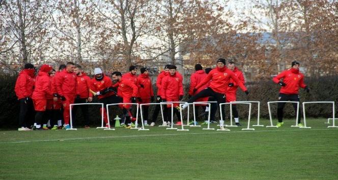 Kayserispor'da Beşiktaş maçı hazırlıkları sürüyor