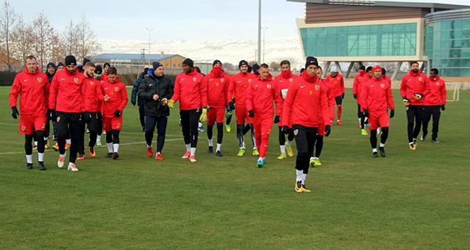 Kayserisporda Beşiktaş maçı hazırlıkları sürüyor