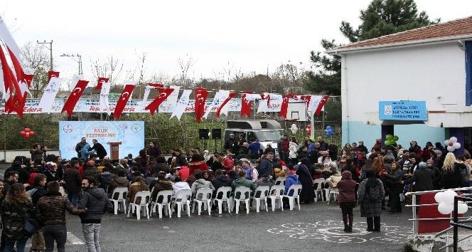 Beykoz'un özel çocukları 7'nci Hamsi Festivali'nde buluştu