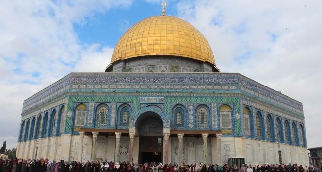 Tartışmaların odağındaki Kudüse Türklerden ziyaret