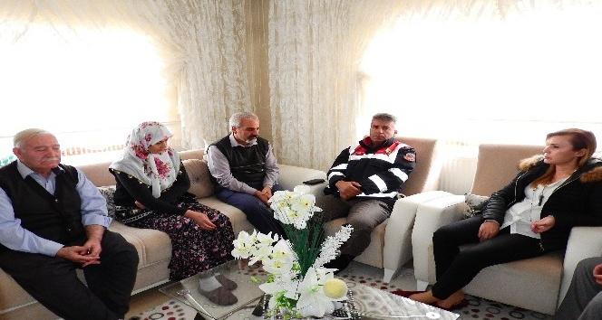 Kaymakam Uçar'dan Kazgan ailesine ziyaret