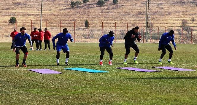 Evkur Yeni Malatyaspor, Göztepe maçı hazırlıklarını sürdürdü