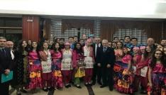 Edirne Belediyesi halk oyunları ekibi Karadağı fethetti