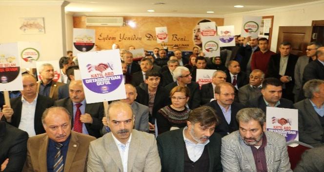 Adana'da Kudüs kararı protesto edildi