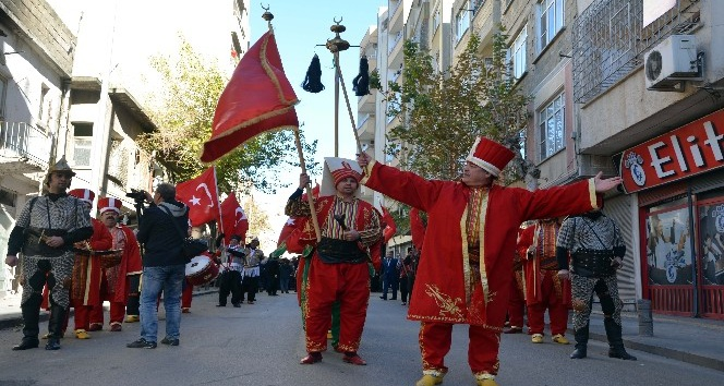 Kilis'te mehteranlı kurtuluş kutlaması
