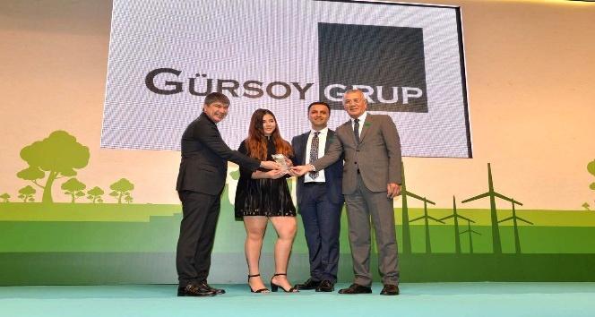 Gürsoy Grup'a 'Çevreci Tesis' ödülü