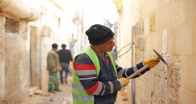 Gaziantep'te tarihi mahallelerin restorasyonu sürüyor