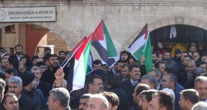 Şanlıurfa'da Kudüs protestosu