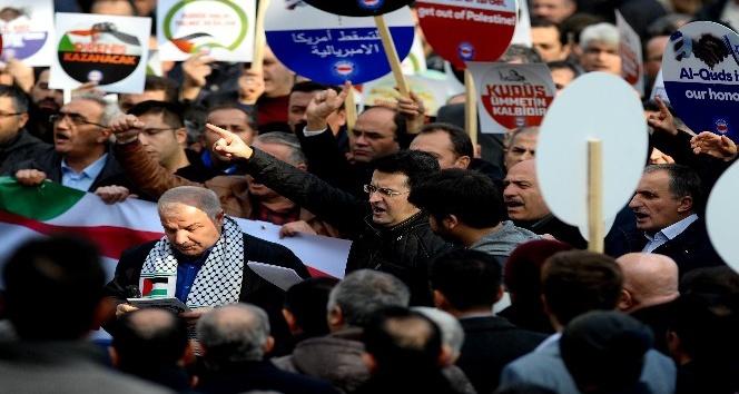 Amerika'nın Kudüs provokasyonuna Bursa'dan sert tepki
