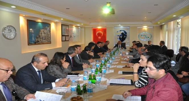 Tunceli'de İl Su Yönetim Koordinasyon Kurulu Toplantısı