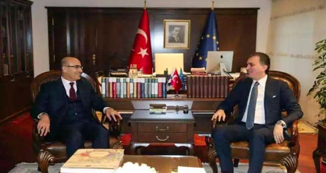 Vali Demirtaş, Bakan Çelik ve TBMM Başkanı Kahraman'ı ziyaret etti